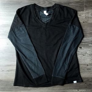 NEW Ellie Activewear Long Sleeve Shirt w/ Mesh